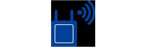 Wi-Fiサービス (公衆無線LAN)のイラスト